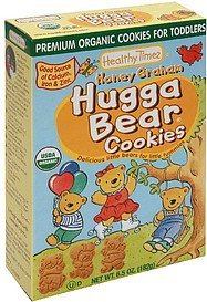 cookies for toddlers honey graham hugga bear Healthy Times Nutrition info