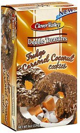 cookies fudge caramel coconut Clover Valley Nutrition info