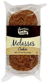 cookies molasses American Value Nutrition info