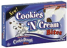 cookies 'n cream bites Taste of Nature Nutrition info