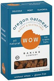 cookies oregon oatmeal WOW Nutrition info