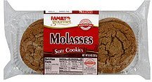 cookies soft, molasses Family Gourmet Nutrition info