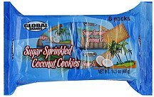 cookies sugar sprinkled coconut Global Brands Nutrition info