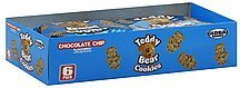 cookies teddy bear, chocolate chip flavored Global Brands Nutrition info