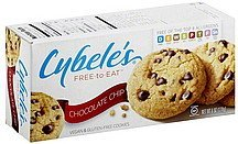 cookies vegan & gluten-free, chocolate chip Cybeles Nutrition info