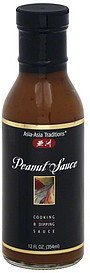cooking & dipping sauce peanut sauce Asia-Asia Traditions Nutrition info