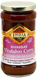 cooking sauce bombay vindaloo curry India Select Nutrition info