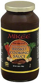 cooking sauce brisket, old fashioned, new york style Mikee Nutrition info