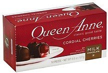 cordial cherries milk chocolate covered Queen Anne Nutrition info