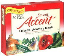 coriander, annatto and tomato seasoning Sa-son Accent Nutrition info