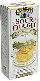 corn bread mix sourdough Goldrush Nutrition info