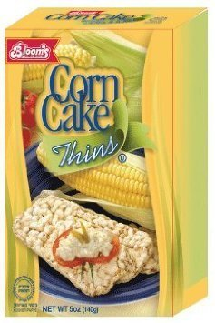 corn cake thins Blooms Nutrition info