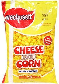 corn cheese flavored Wachusett Nutrition info