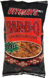 corn chips bar-b-q, pre-priced Vitners Nutrition info