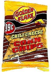 corn chips chili cheese Golden Flake Nutrition info