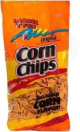corn chips original Barrel O' Fun Nutrition info