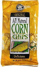 corn chips original Little Bear Nutrition info
