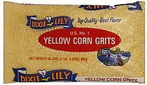 corn grits yellow, us no. 1 Dixie Lily Nutrition info