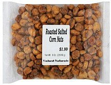 corn nuts roasted salted Valued Naturals Nutrition info