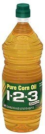 corn oil pure 1-2-3 Nutrition info