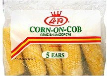 corn-on-cob La Fe Nutrition info