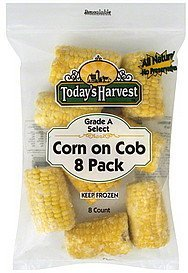 corn on cob Todays Harvest Nutrition info