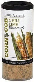 corn on the cob seasoning chili lime Urban Accents Nutrition info