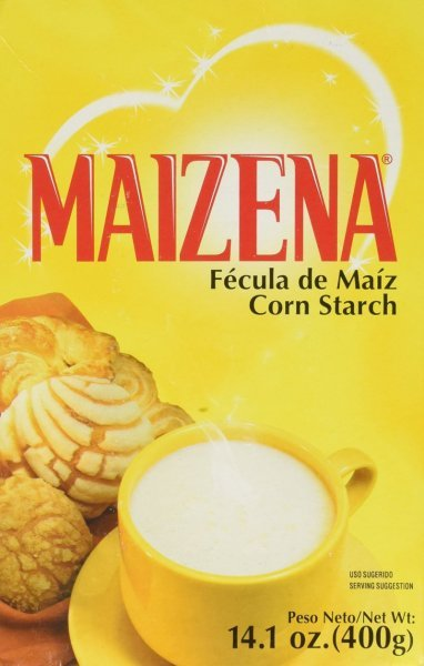 corn starch Maizena Nutrition info