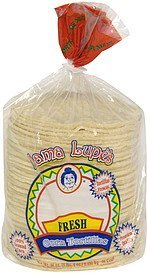 corn tortillas fresh Mama Lupe's Nutrition info