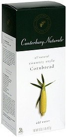 cornbread country style Canterbury Naturals Nutrition info