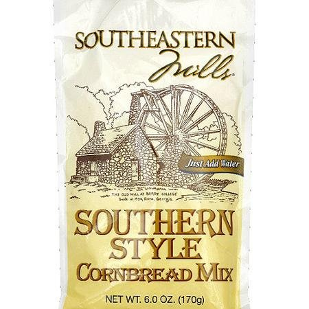 cornbread mix southern style Southeastern Mills Nutrition info
