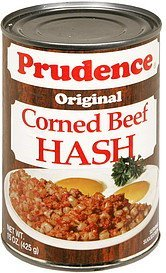corned beef hash original Prudence Nutrition info