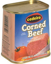 corned beef with juices Cedeira Nutrition info