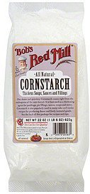 cornstarch all natural Bobs Red Mill Nutrition info