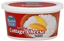 cottage cheese 1% milkfat, lowfat Meadow Brook Nutrition info