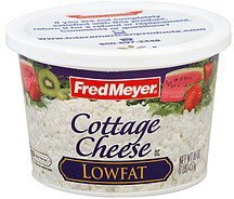 cottage cheese lowfat Fred Meyer Nutrition info