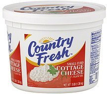 cottage cheese small curd Country Fresh Nutrition info