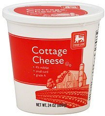 cottage cheese small curd Food Lion Nutrition info
