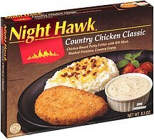 country chicken classic Night Hawk Nutrition info