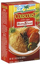 couscous medium Rivoire & Carret Nutrition info