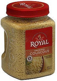 couscous original Royal Nutrition info