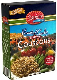 couscous roasted garlic, Savion Nutrition info