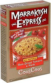 couscous sun-dried tomato & herb Marrakesh Express Nutrition info