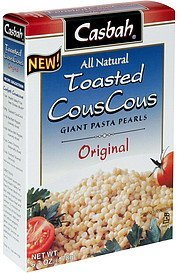 couscous toasted, original Casbah Nutrition info