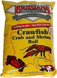 crab and shrimp boil crawfish Louisiana Fish Fry Products Nutrition info