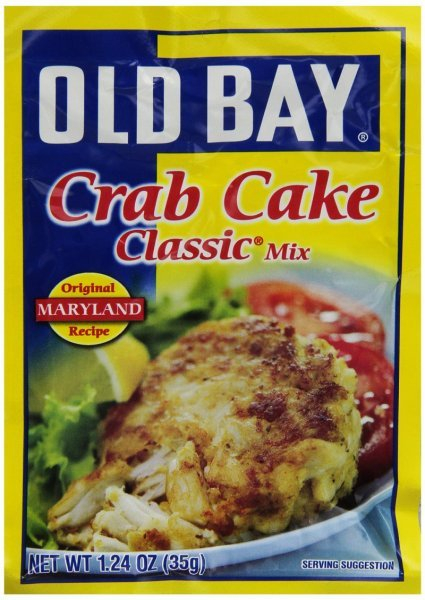 crab cake classic Old Bay Nutrition info