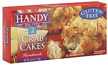 crab cakes handmade Handy Nutrition info