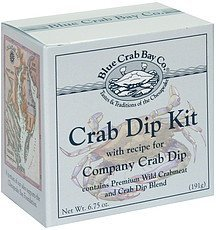 crab dip kit Blue Crab Bay Co. Nutrition info