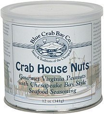crab house nuts Blue Crab Bay Co. Nutrition info