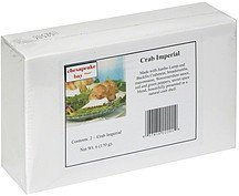 crab imperial Chesapeake Bay Nutrition info